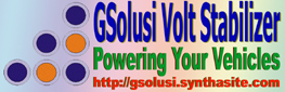 GSolusi Volt Stabilizer Powering Your Vehicles